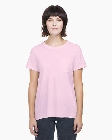 Women's Crew Pocket Tee - Lilac