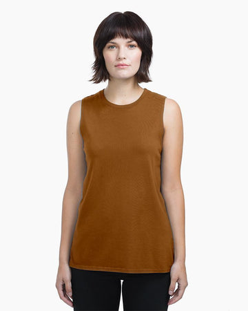 Women's Muscle Tank - Tobacco