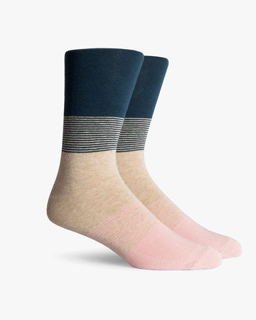 Cliff Crew Sock - Teal