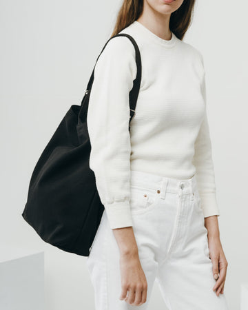 Canvas Duck Bag - Black