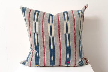 Blue & Pink Ivory Coast Pillow