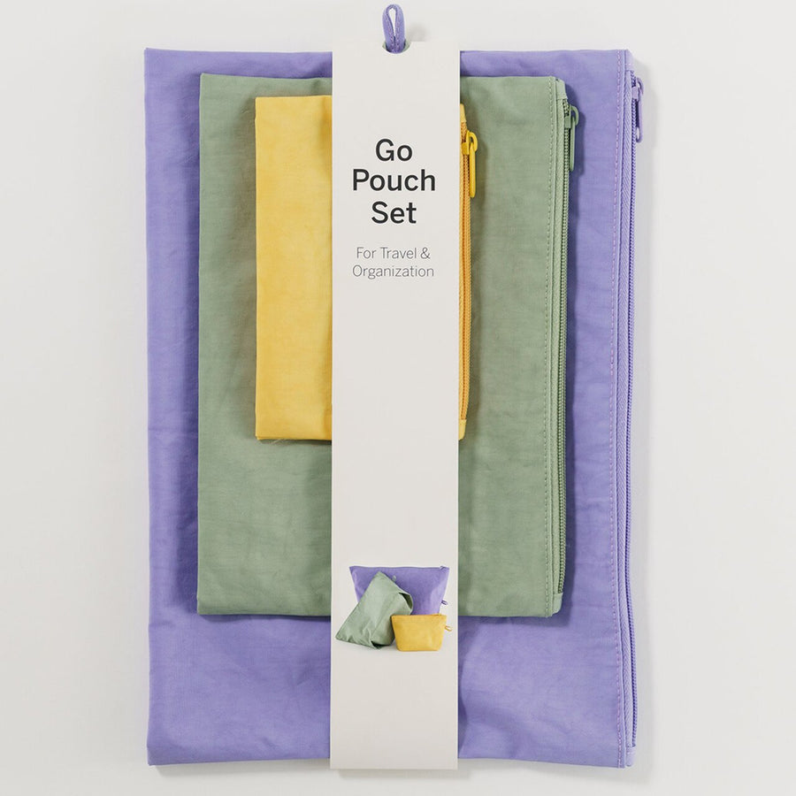 Go Pouch Set - Meadow