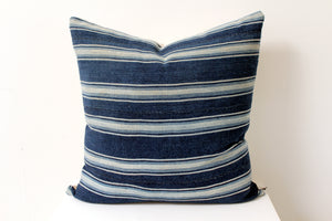 Striped Thai Hmong Pillow