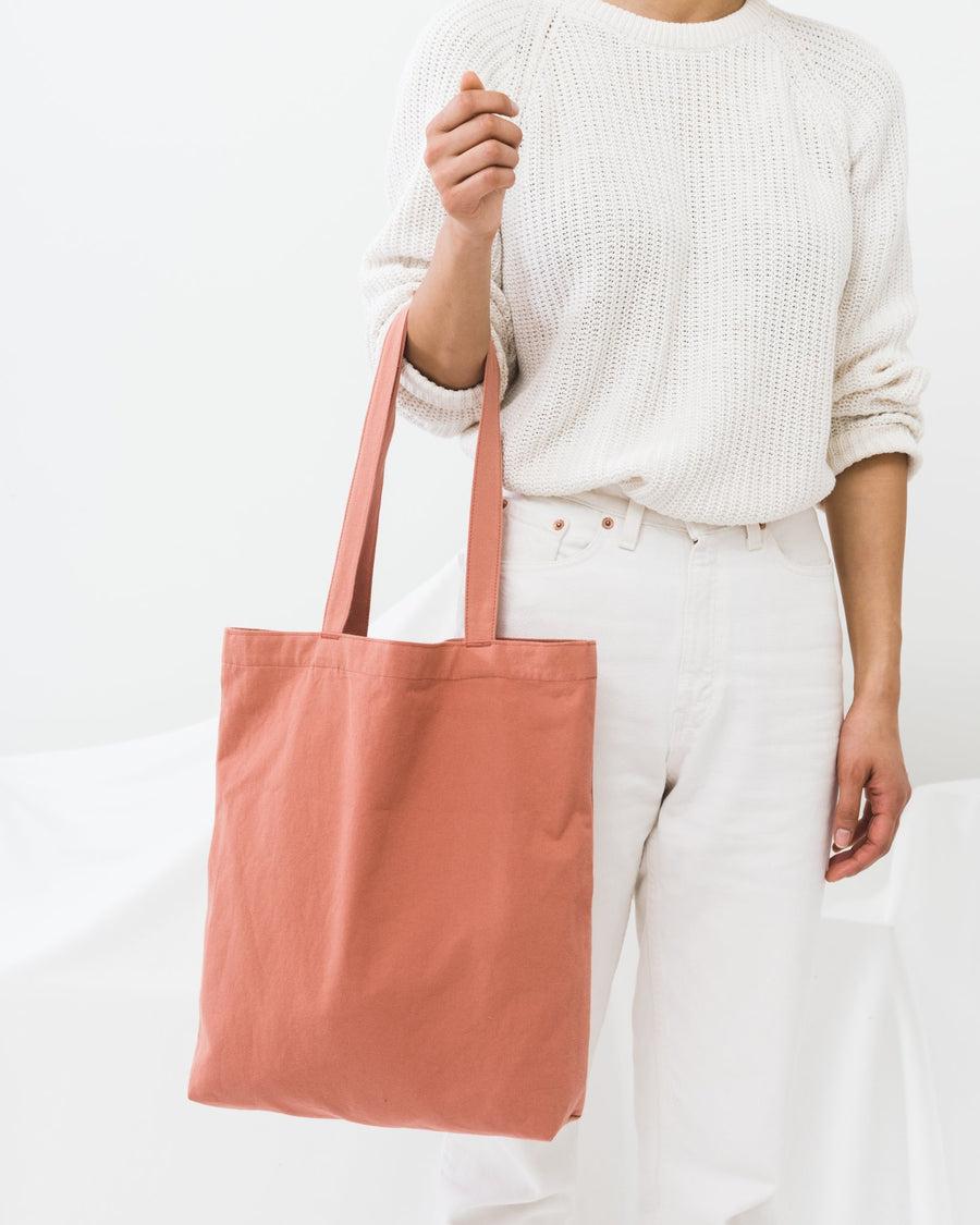 Canvas Tote - Terracotta