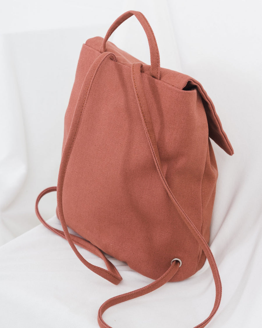 Highland Park Mini Backpack - Terracotta