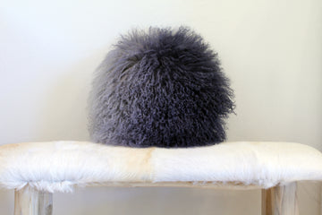 Ombré Fur Pillow