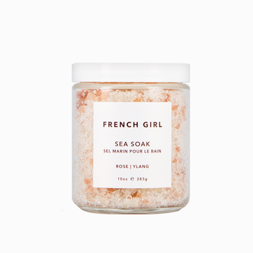 French Girl Sea Soak