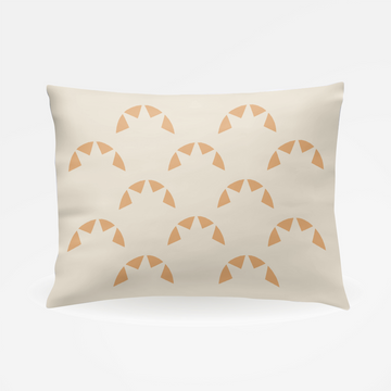 Muse California Sunburst Pillowcase - Pair of Two