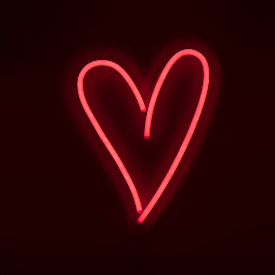 Amped & Co - Heart - LED Neon Wall Light