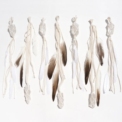 Clear Quartz Wall Hanging