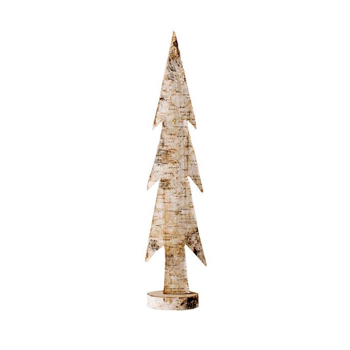 Natural Birch Wood Tree