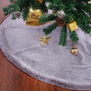 Blizzard Grey Tree Skirt
