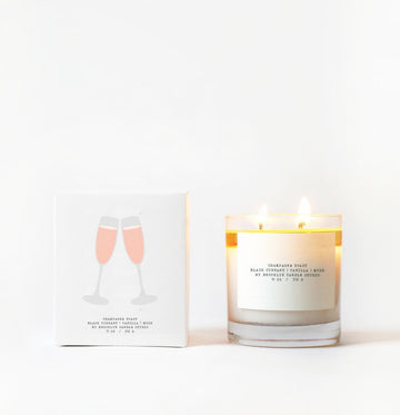 Champagne Toast Candle