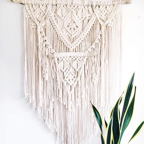 Multi-Layered Macramé Wall Hanging