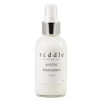 Riddle Oil Santal Lotion