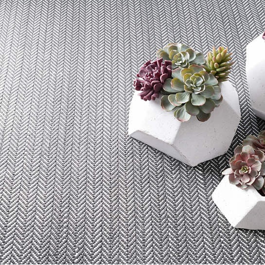 Herringbone Shale Woven Cotton Runner