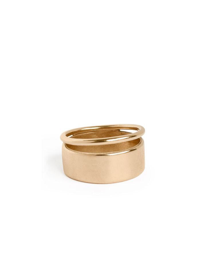 Bronze Hover Ring