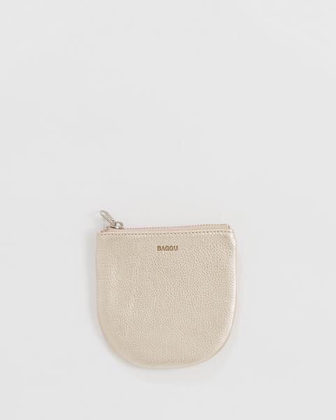 Small U Pouch - Platinum