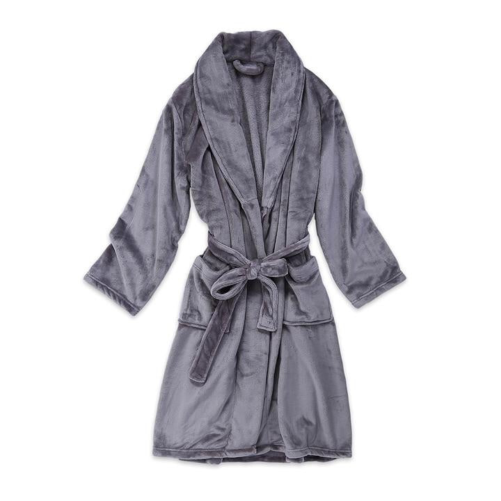 Long Velvety Spa Robe
