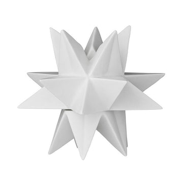 Porcelain Star-Shaped Taper Holder