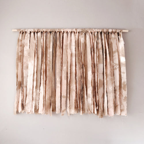 Millroad Studio Wall Hanging in Blush + Beige