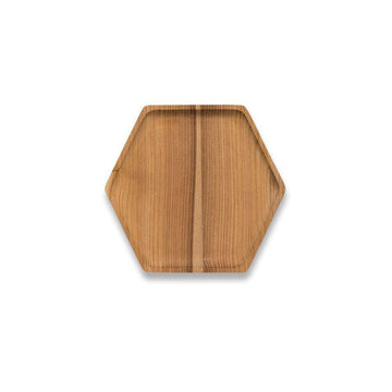 Hexagonal Cedar Tray