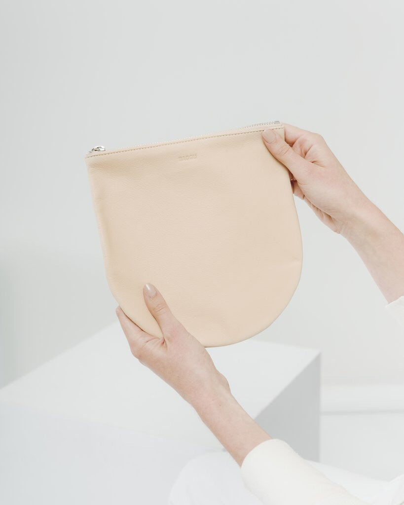 Large U Pouch - Natural
