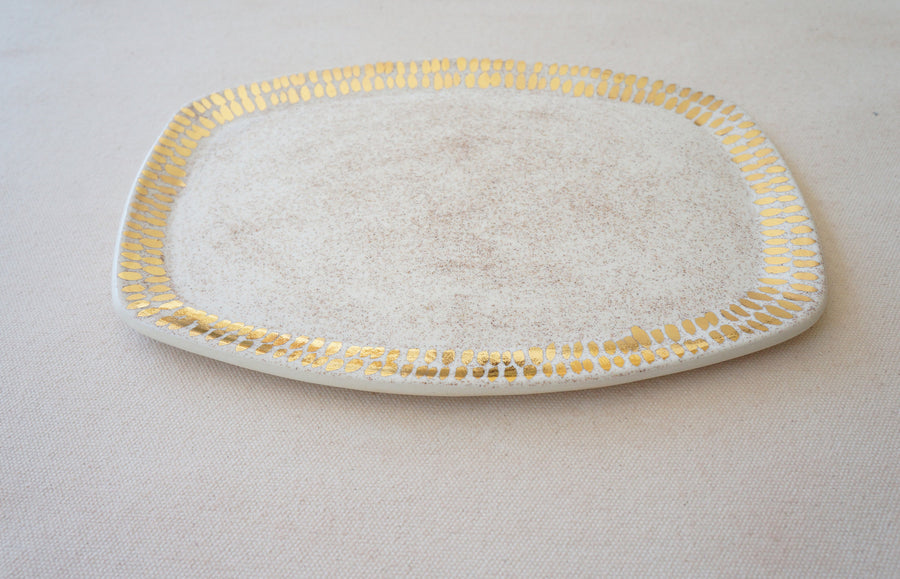 Speckled Oatmeal Vanity Tray