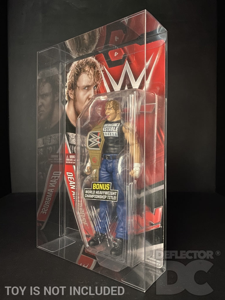 WWE Basic Series 57 -77 Figure Display Case