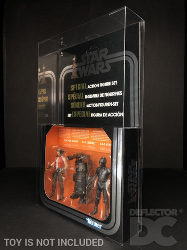 Star Wars The Vintage Collection SDCC Special Action Figure Set Display Case