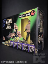 Load image into Gallery viewer, Star Wars The Power of the Force Speeder Bike Display Case