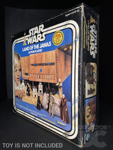 Load image into Gallery viewer, Star Wars Vintage Land of the Jawas Action Playset Display Case