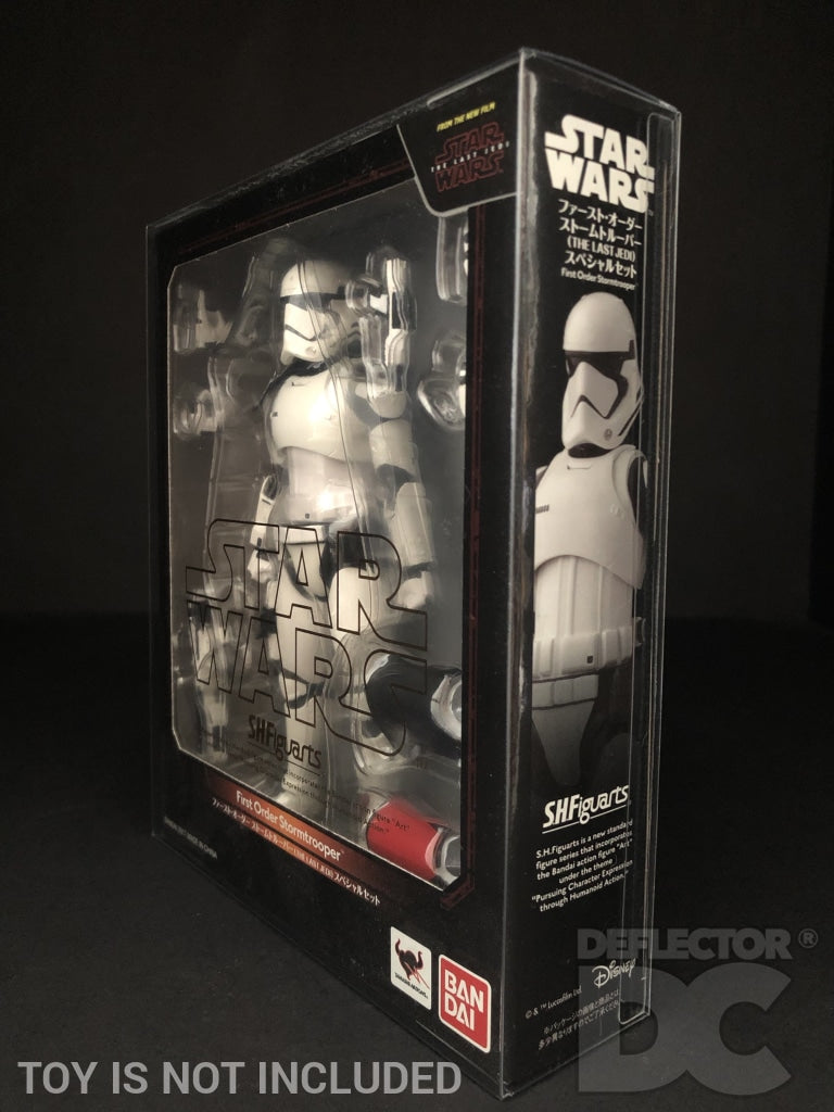 Star Wars Bandai S.H. Figuarts First Order Stormtrooper TLJ Display Case