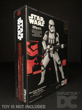 Load image into Gallery viewer, Star Wars Bandai S.H. Figuarts First Order Stormtrooper Heavy Gunner TFA Display Case