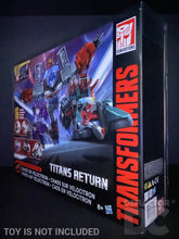 Load image into Gallery viewer, Transformers Generations Titans Return Chaos On Velocitron Display Case