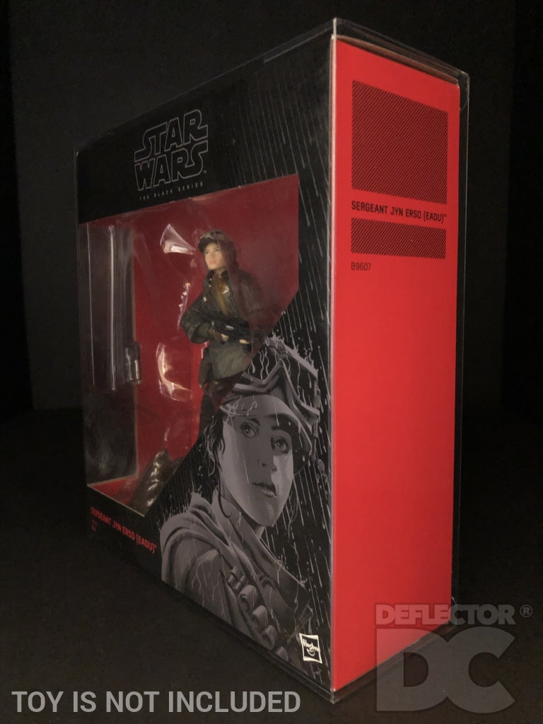 Star Wars The Black Series 6 Inch Sergeant Jyn Erso Eadu Display Case