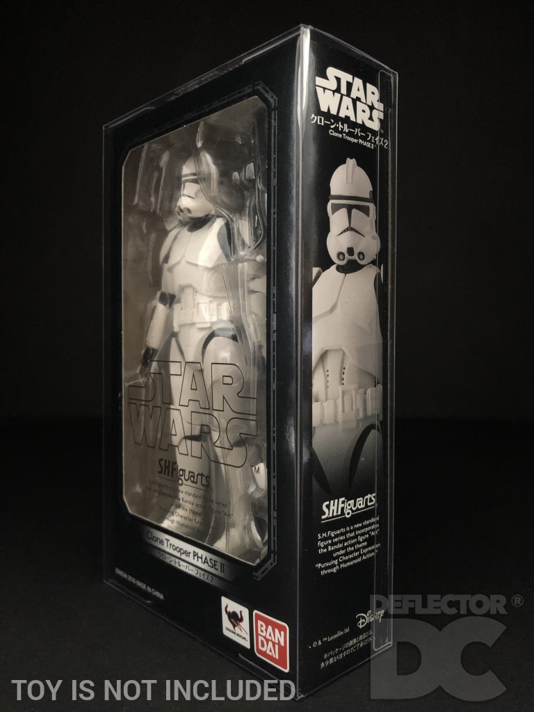 Star Wars Bandai S.H. Figuarts Clone Trooper Phase II ROTS Display Case