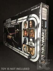 Star Wars Retro Death Star Escape - Grand Moff Tarkin Figure Display Case