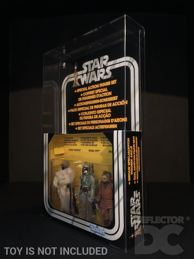 Star Wars Special Action Figure Set 3.75 Inch Figure Display Case