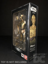 Load image into Gallery viewer, Star Wars Bandai S.H. Figuarts C-3PO ANH Display Case