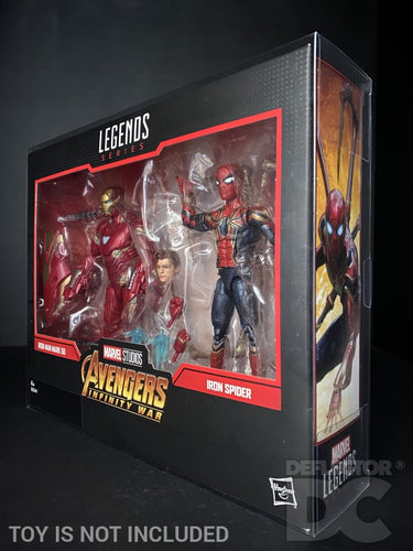Marvel Legends Series 6 Inch 2 Pack Action Figure Display Case