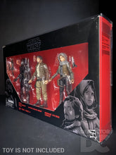 Load image into Gallery viewer, Star Wars The Black Series 6 Inch Rogue One 3 Pack Display Case