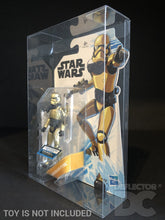Load image into Gallery viewer, Star Wars Resistance 3.75 Inch Figure Display Case