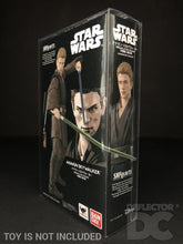 Load image into Gallery viewer, Star Wars Bandai S.H. Figuarts Anakin Skywalker AOTC Exclusive Display Case