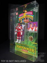 Load image into Gallery viewer, Power Rangers Auto Morphin Figure Display Case