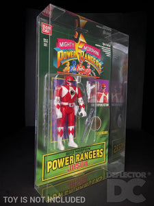 Power Rangers Auto Morphin Figure Display Case