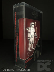 Star Wars the Black Series Red/Black 3.75 Inch Figure Display Case