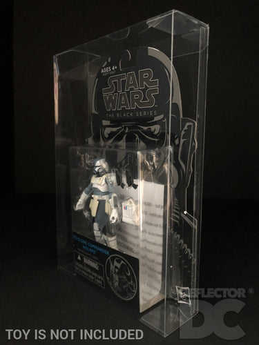 Star Wars the Black Series Blue Wave 3.75 Inch Figure Display Case