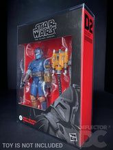 Load image into Gallery viewer, Star Wars The Black Series 6 Inch Heavy Infantry Mandalorian Display Case