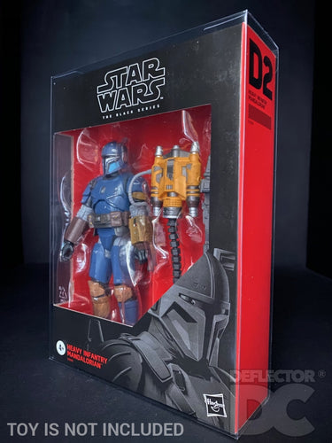 Star Wars The Black Series 6 Inch Heavy Infantry Mandalorian Display Case